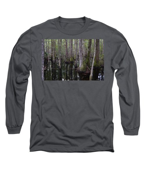 Into The Cypress Swamp Long Sleeve T-Shirt