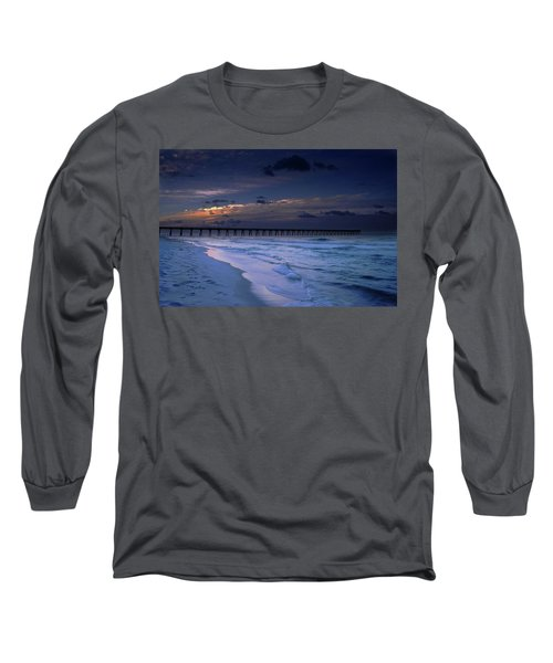 Long Sleeve T-Shirt featuring the photograph Into The Night by Renee Hardison