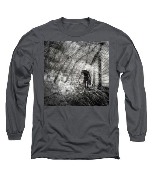 Long Sleeve T-Shirt featuring the photograph Into The Storm by Gray  Artus
