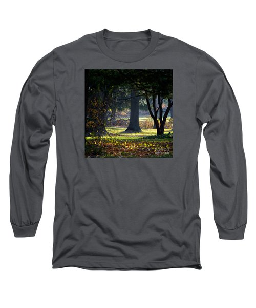 Intrigued By The Light Long Sleeve T-Shirt