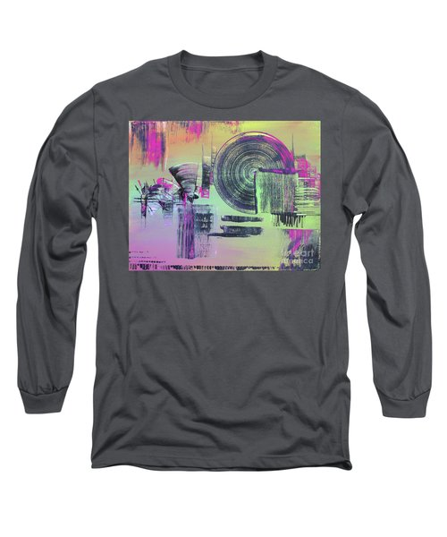 Introvert Long Sleeve T-Shirt by Melissa Goodrich