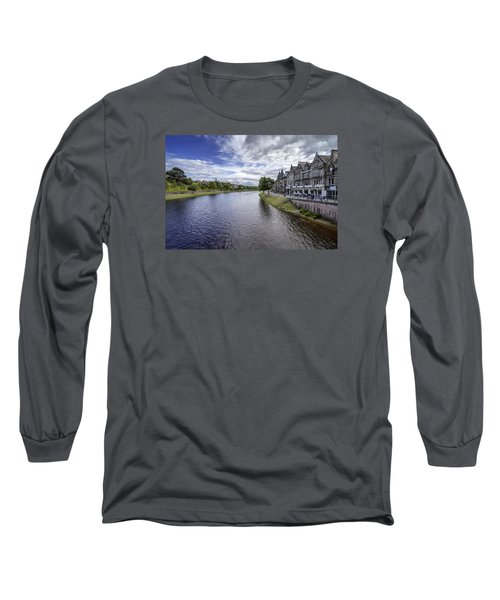 Long Sleeve T-Shirt featuring the photograph Inverness by Jeremy Lavender Photography