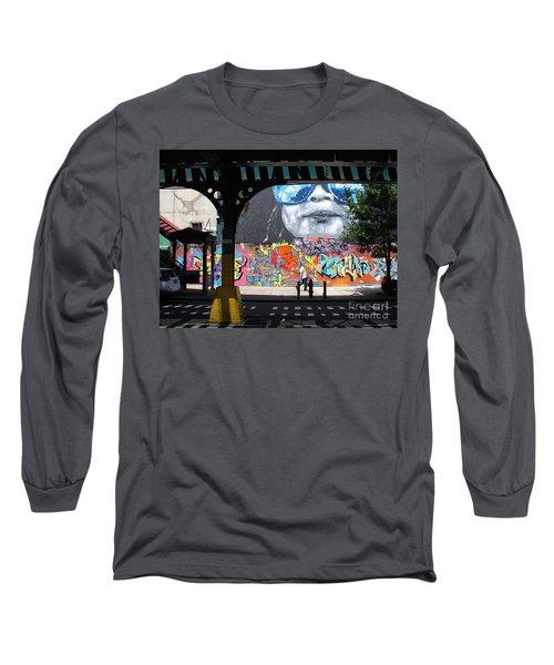 Inwood Street Art  Long Sleeve T-Shirt