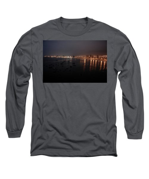 Iquique Harbor Chile Long Sleeve T-Shirt