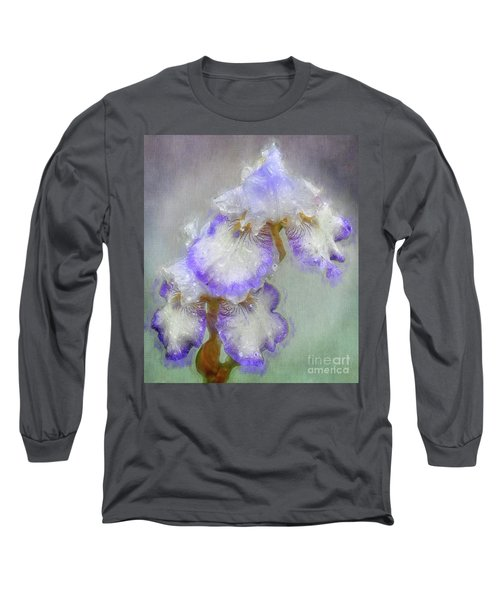 Iris After The Rain Long Sleeve T-Shirt by Suzanne Handel