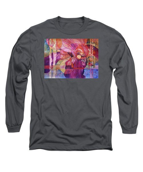Iris Delight Long Sleeve T-Shirt