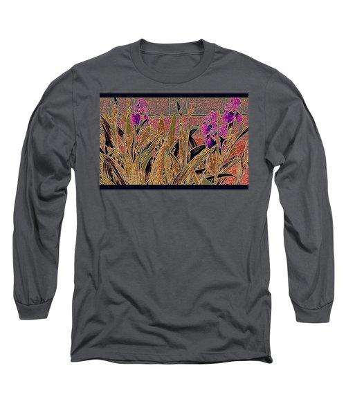Iris Mural Long Sleeve T-Shirt