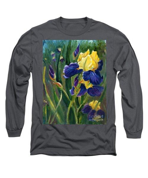 Iris Long Sleeve T-Shirt by Renate Nadi Wesley