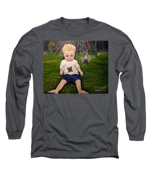 Irish Blessings From Heaven Long Sleeve T-Shirt by Kimberlee Baxter