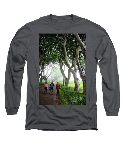 Irish Lasses On The King's Road Long Sleeve T-Shirt