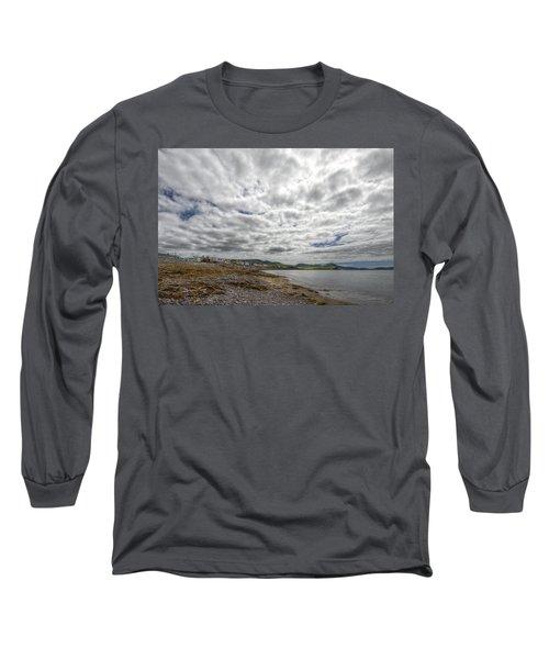 Irish Sky - Waterville, Ring Of Kerry Long Sleeve T-Shirt