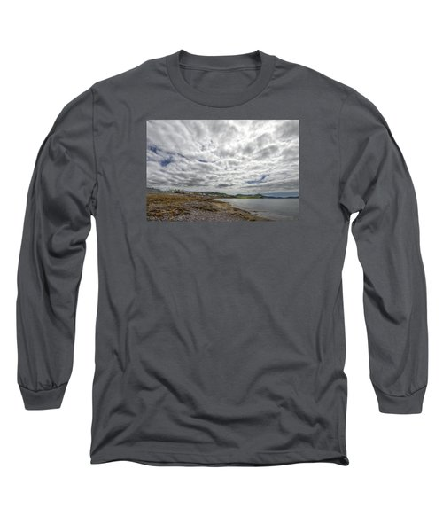 Irish Sky - Waterville, Ring Of Kerry Long Sleeve T-Shirt