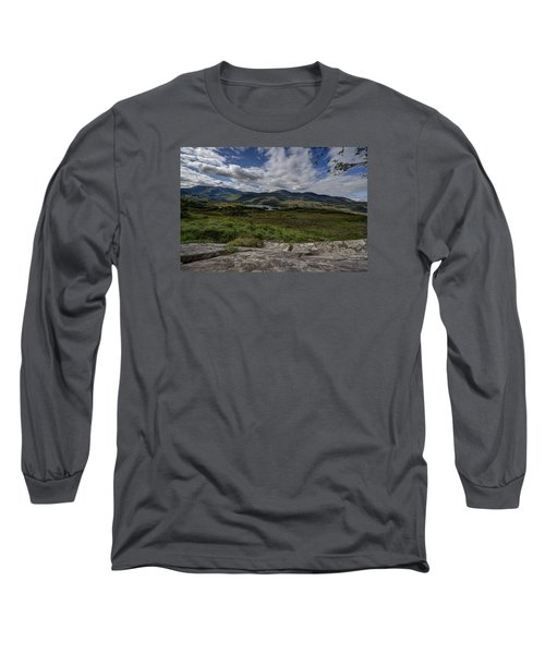 Irish Sky - Wicklow Mountains Long Sleeve T-Shirt