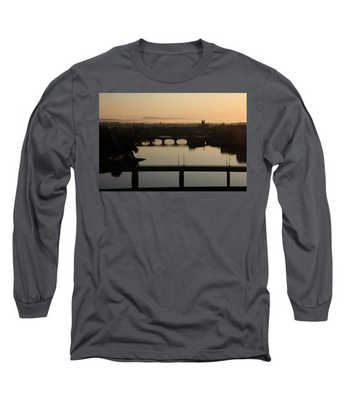 Irish Sunrise  Long Sleeve T-Shirt by Catherine Alfidi