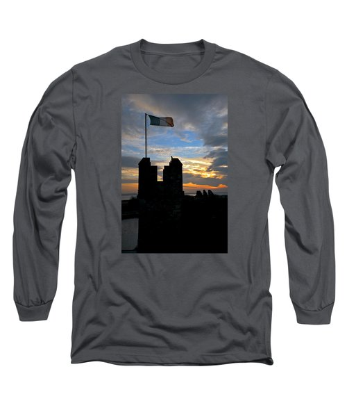 Irish Sunset Over Ramparts 1 Long Sleeve T-Shirt