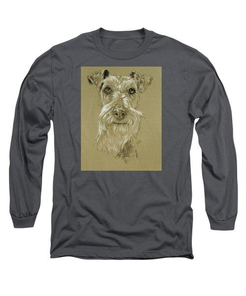 Irish Terrier Long Sleeve T-Shirt by Barbara Keith