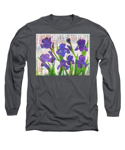 Irresistible Irises Long Sleeve T-Shirt