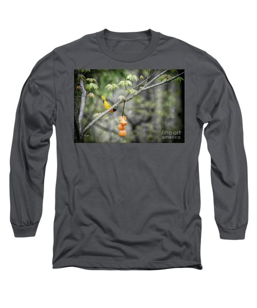 Long Sleeve T-Shirt featuring the photograph Is This For Me by Lila Fisher-Wenzel