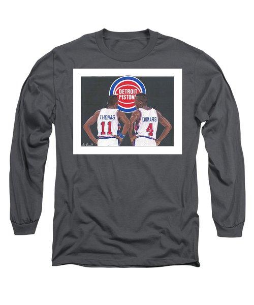 Isiah Thomas And Joe Dumars Long Sleeve T-Shirt