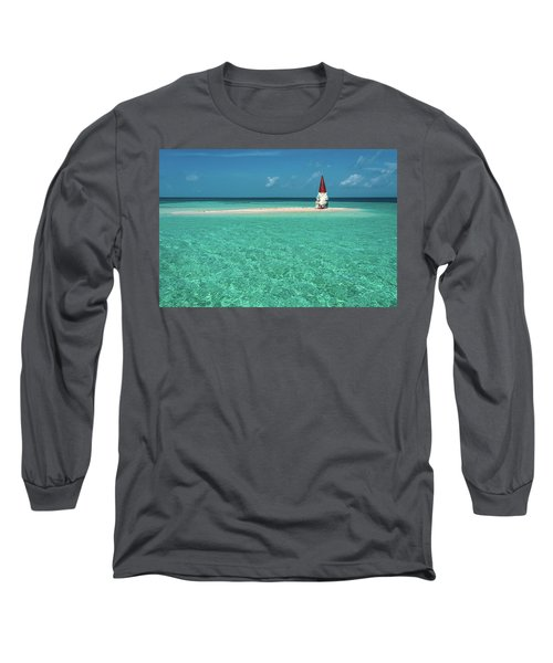 Long Sleeve T-Shirt featuring the photograph Island Gnome by Harry Spitz