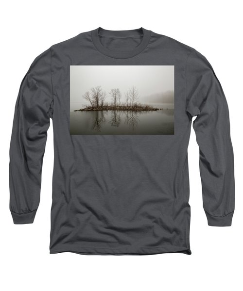 Island In The Fog Long Sleeve T-Shirt