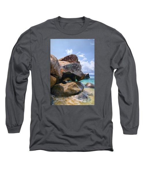 Island Virgin Gorda The Baths Long Sleeve T-Shirt