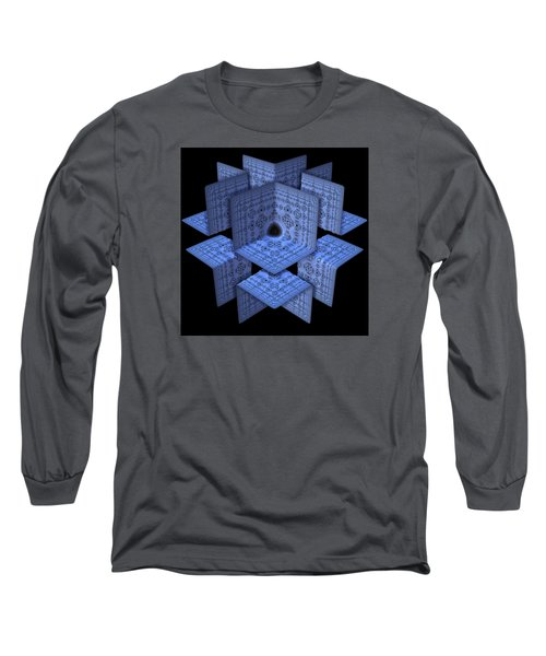 Long Sleeve T-Shirt featuring the digital art Isolation by Lyle Hatch