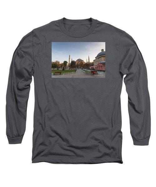 Istanbul City Center Long Sleeve T-Shirt by Yuri Santin