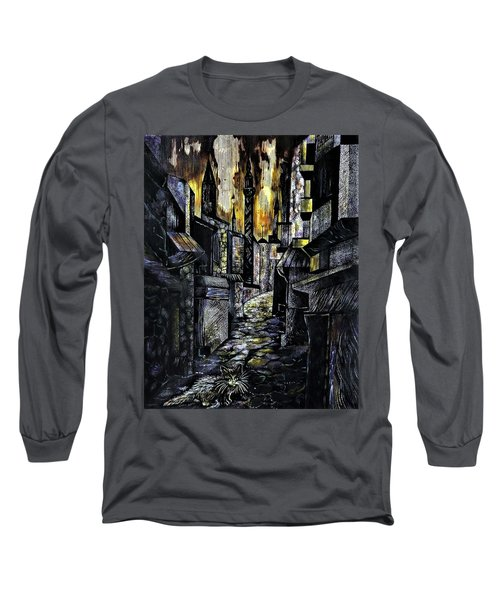 Istanbul Impressions. Lost In The City. Long Sleeve T-Shirt