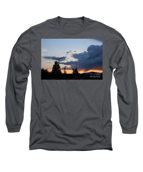 Long Sleeve T-Shirt featuring the photograph It Cometh by Marie Neder