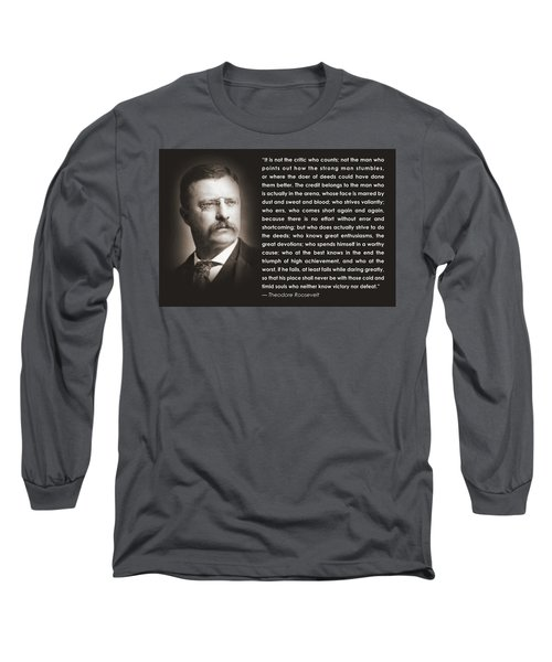 It Is Not The Critic Long Sleeve T-Shirt