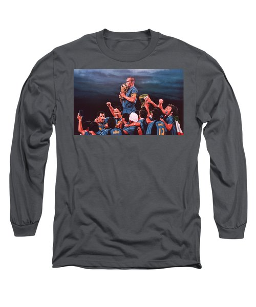 Italia The Blues Long Sleeve T-Shirt
