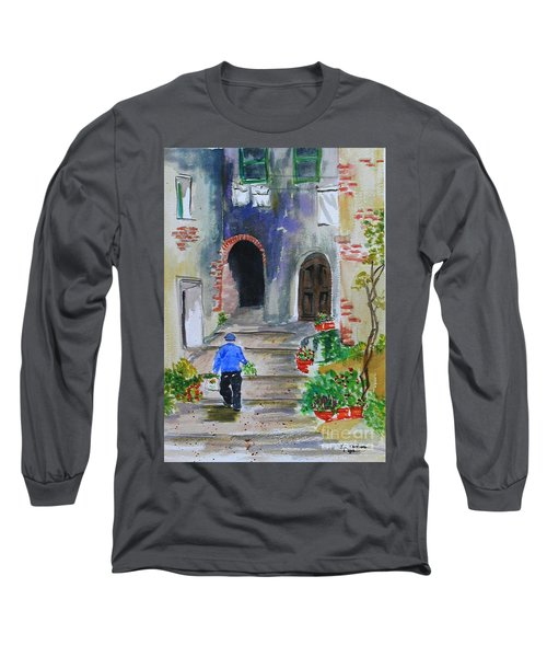 Italian Alleyway Long Sleeve T-Shirt