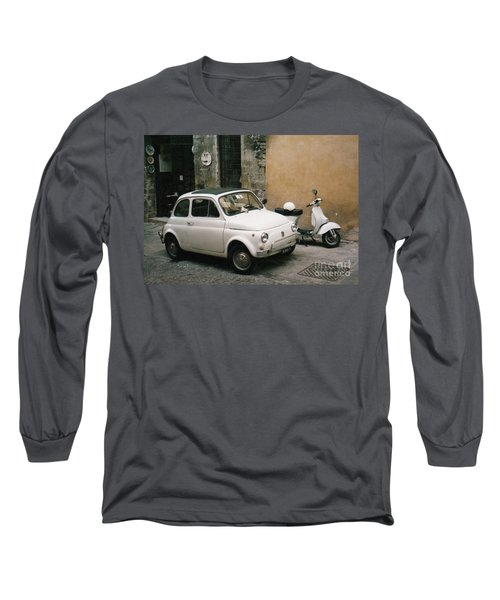 Italian Classic Commute  Long Sleeve T-Shirt