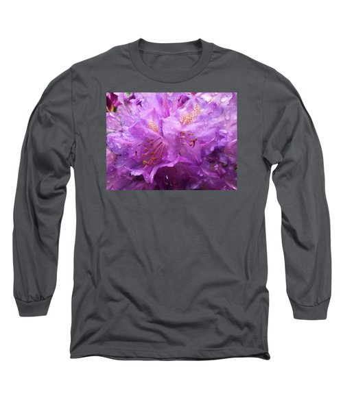 It's A Rainy Day Long Sleeve T-Shirt by Gabriella Weninger - David