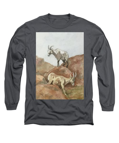 Its All Downhill Long Sleeve T-Shirt