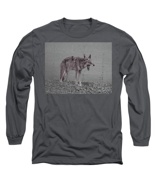 It's Been A Rough Day Long Sleeve T-Shirt by Anne Rodkin