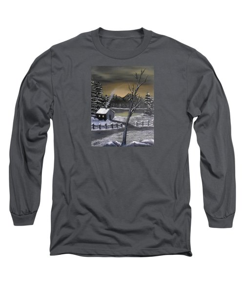 It's Cold Outside Long Sleeve T-Shirt by Sheri Keith
