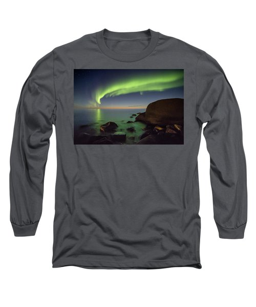 It's Not Even Night Yet Long Sleeve T-Shirt by Alex Conu