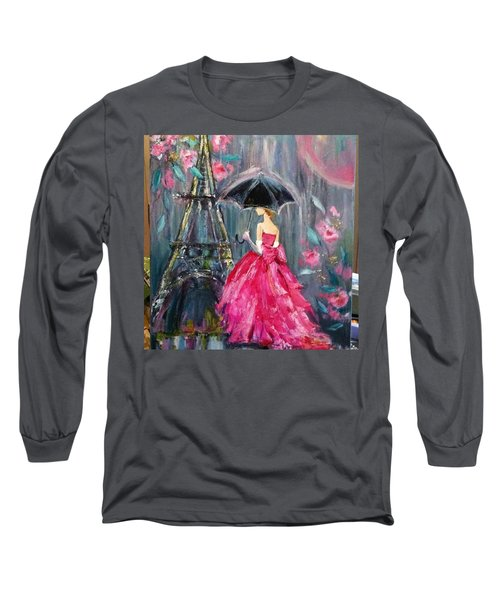 It's Raining In #california ! This Long Sleeve T-Shirt