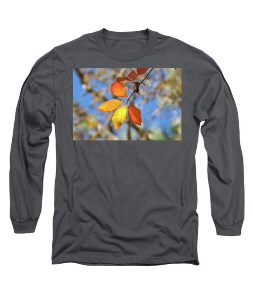 Long Sleeve T-Shirt featuring the photograph It's Time To Change by Linda Unger