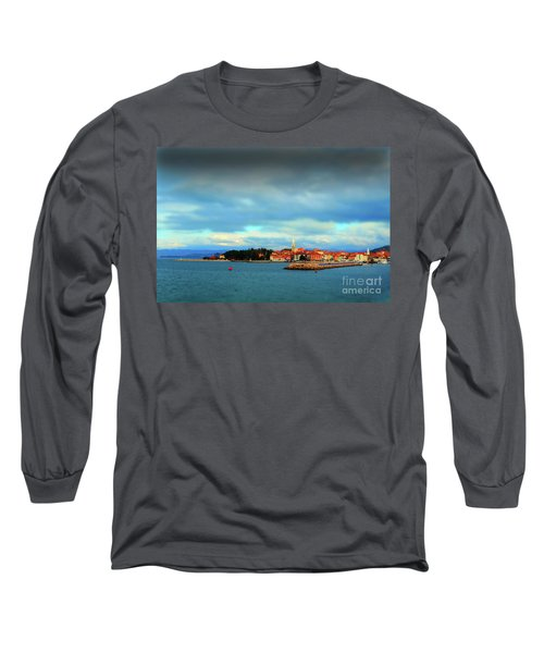 Izola From The Marina Long Sleeve T-Shirt by Graham Hawcroft pixsellpix