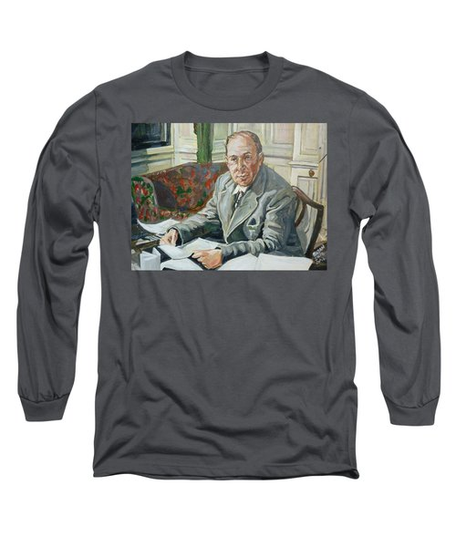 Jack C S Lewis Long Sleeve T-Shirt