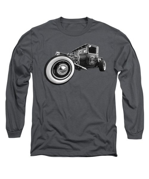 Jack Daniels Vintage Hot Rod Delivery Long Sleeve T-Shirt
