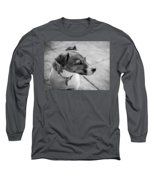 Long Sleeve T-Shirt featuring the photograph Jack Russell by Nick Bywater