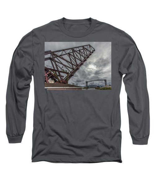Jackknife Bridge To The Clouds Long Sleeve T-Shirt