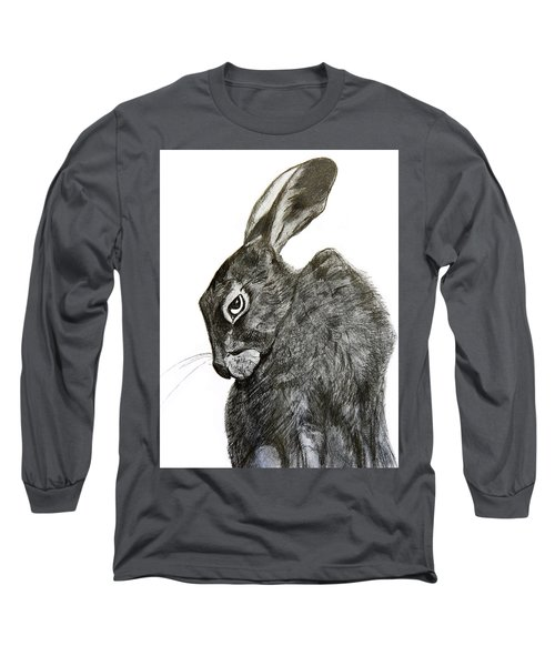 Jackrabbit Jock Long Sleeve T-Shirt by Linde Townsend