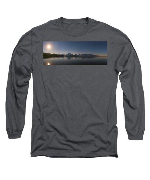 Jackson Lake Moon Long Sleeve T-Shirt