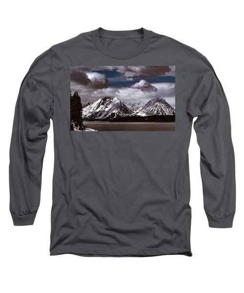 Jackson Lake Peaks Long Sleeve T-Shirt
