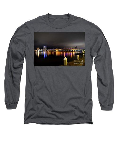 Jacksonville Night Sky Long Sleeve T-Shirt